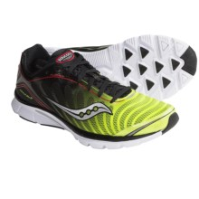 Saucony Kinvara 3 Running Shoes (For Men) in Black/Citron/Red - Closeouts