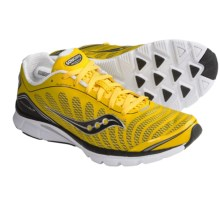 Saucony Kinvara 3 Running Shoes (For Men) in Yellow/Black - Closeouts