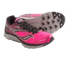 Saucony Kinvara 4 Gore-Tex® XCR® Running Shoes - Waterproof (For Women) in Black/Vizipro Pink - Closeouts