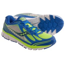 Saucony Kinvara 5 Running Shoes (For Big Kids) in Blue/Green - Closeouts