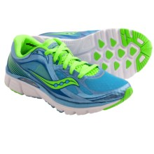 Saucony Kinvara 5 Running Shoes (For Women) in Blue/Slime - Closeouts