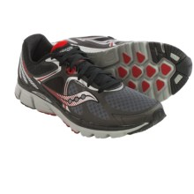 Saucony Kinvara 6 Running Shoes (For Men) in Black/Grey/Red - Closeouts