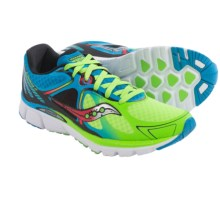 Saucony Kinvara 6 Running Shoes (For Men) in Blue/Slime/Coral - Closeouts