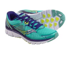 Saucony Kinvara 6 Running Shoes (For Women) in Blue/Citron - Closeouts