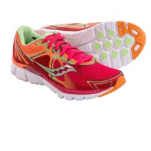 Saucony Kinvara 6 Running Shoes (For Women) in Red/Orange/Mint - Closeouts