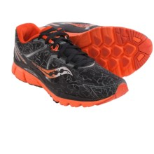 Saucony Kinvara 6 Runshield Running Shoes (For Men) in Black/Orange - Closeouts