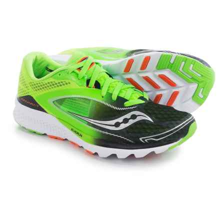 Saucony Kinvara 7 Running Shoes (For Men) in Slime/Black - Closeouts