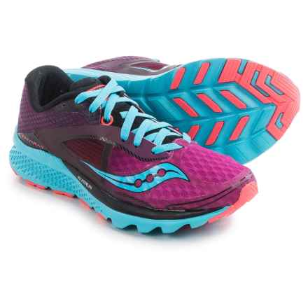 Saucony Kinvara 7 Running Shoes (For Women) in Pink/Purple/Blue - Closeouts