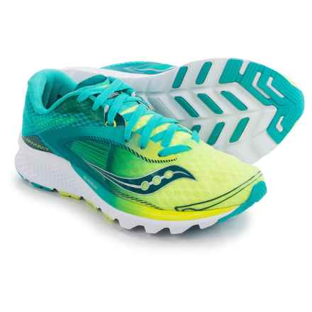 Saucony Kinvara 7 Running Shoes (For Women) in Teal/Citron - Closeouts
