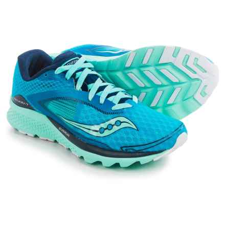 Saucony Kinvara 7 Running Shoes (For Women) in Teal/Navy/Silver - Closeouts