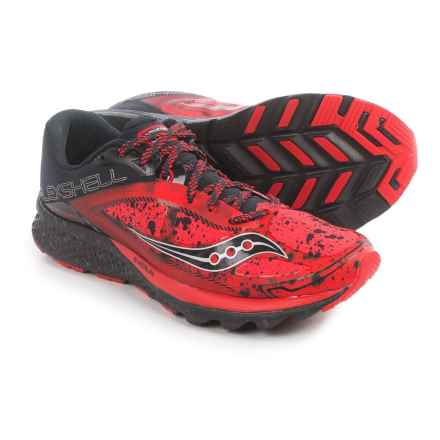 Saucony Kinvara 7 Runshield Running Shoes (For Men) in Red/Black/Silver - Closeouts