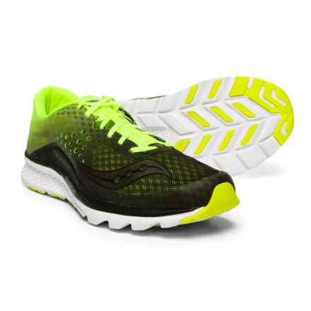 Saucony Kinvara 8 Running Shoes (For Men) in Black/Citron - Closeouts