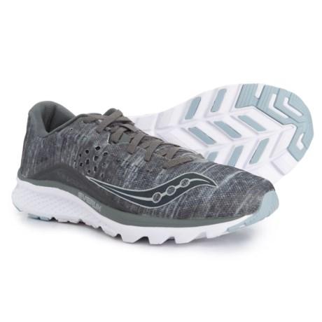 Saucony Kinvara 8 Running Shoes (For Men) in Grey