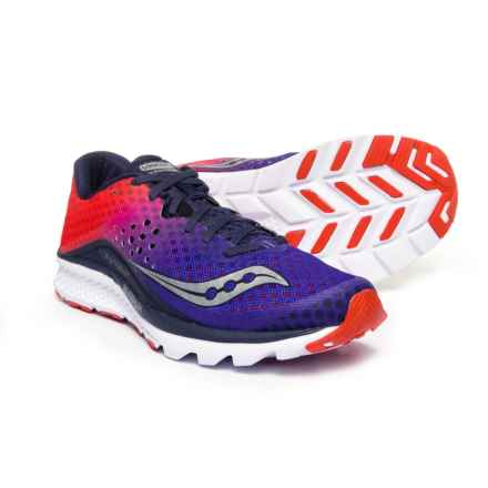 Saucony Kinvara 8 Running Shoes (For Men) in Navy/Orange - Closeouts