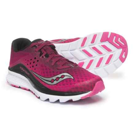 Saucony Kinvara 8 Running Shoes (For Women) in Berry/Pink - Closeouts