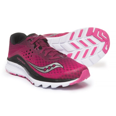 Saucony Kinvara 8 Running Shoes (For Women) in Berry/Pink