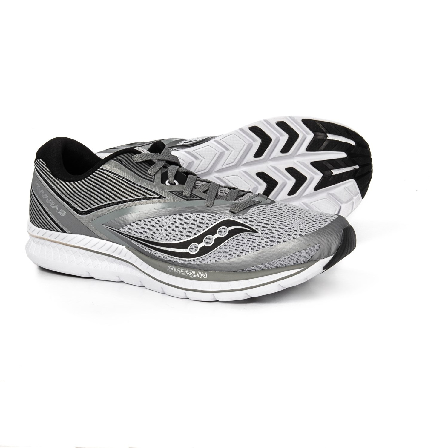 976547f8adad Saucony Kinvara 9 Running Shoes (For Men) in Grey Black
