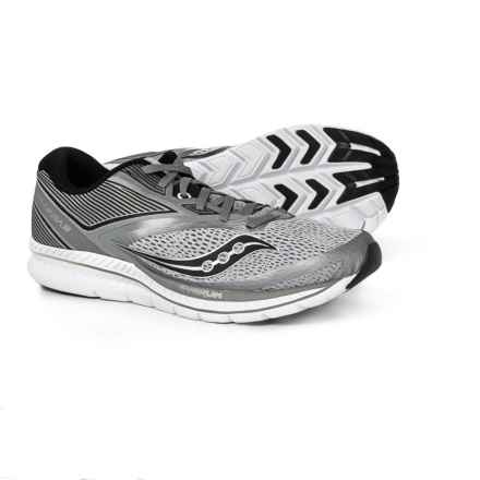 5efc128734e544 Saucony Kinvara 9 Running Shoes (For Men) in Grey Black - Closeouts