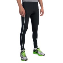 Saucony Kinvara Calf Support Tights (For Men) in Black/Black - Closeouts