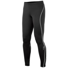 Saucony Kinvara Calf Support Tights - UPF 50+ (For Women) in Black/Black - Closeouts