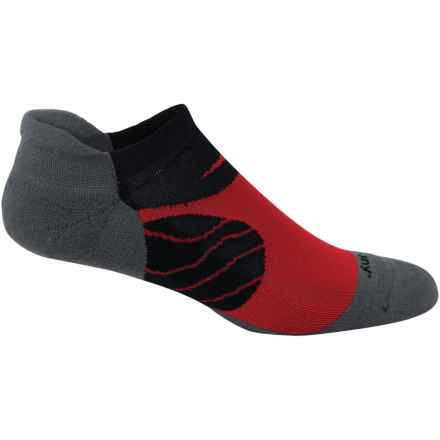 Saucony Kinvara No-Show Tab Socks - Below the Ankle (For Men and Women) in Element - Closeouts