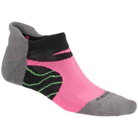 Saucony Kinvara No-Show Tab Socks - Below the Ankle (For Men and Women) in Grey - Closeouts
