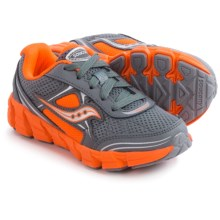 Saucony Kotaro 2 Running Shoes (For Little and Big Kids) in Grey/Orange - Closeouts