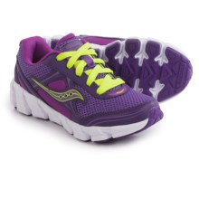 Saucony Kotaro 2 Running Shoes (For Little and Big Kids) in Purple/Berry/Citron - Closeouts
