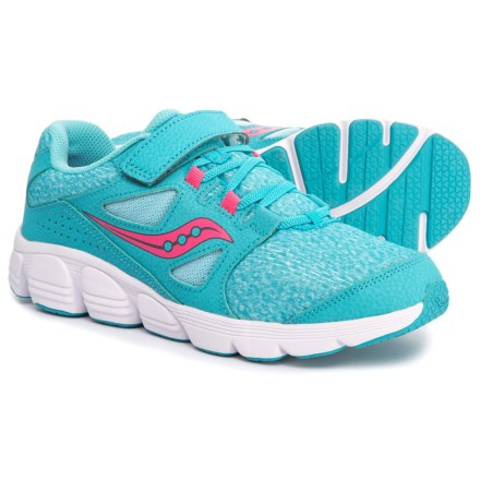 141bcee34347d Saucony Kotaro 4 A C Running Shoe (For Girls) in Turqouise Pink
