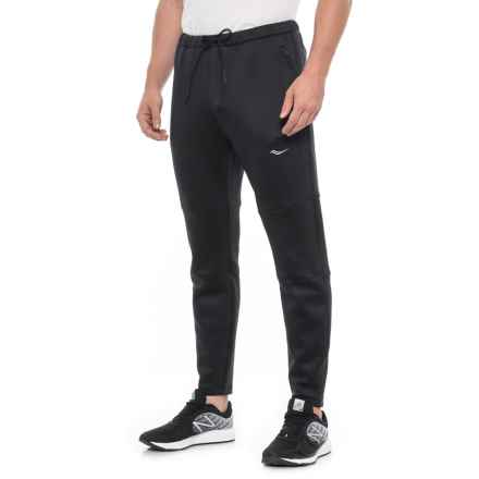 Saucony Life on the Run Joggers (For Men) in Black - Closeouts