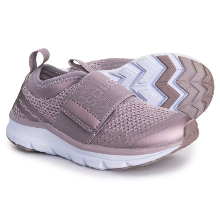 d1bcfe0098d1 Saucony Liteform Stretch and Go A C Running Shoes (For Girls) in Dusty