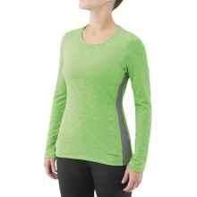 Saucony LX Scoop Shirt - Long Sleeve (For Women) in Envy - Closeouts