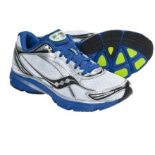 Saucony Mirage 2 Running Shoes (For Men) in White/Blue/Citron - Closeouts