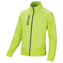 Saucony Nomad Jacket (For Men) in Livewire/Navy - Closeouts