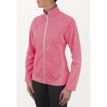 Saucony Nomad Jacket (For Women) in Visipro Pink - Closeouts