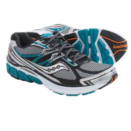 Saucony Omni 14 Running Shoes (For Men) in Silver/Blue - Closeouts