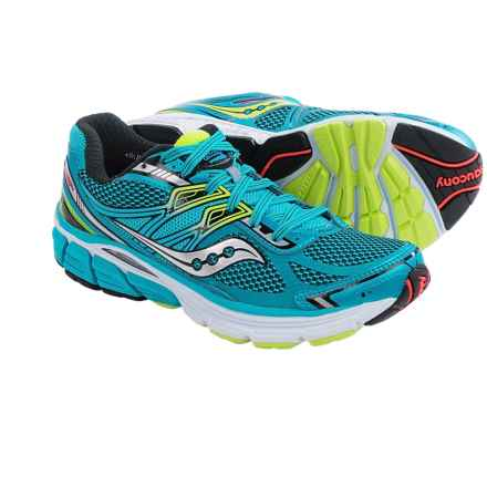 Saucony Omni 14 Running Shoes (For Women) in Blue/Black/Citron - Closeouts