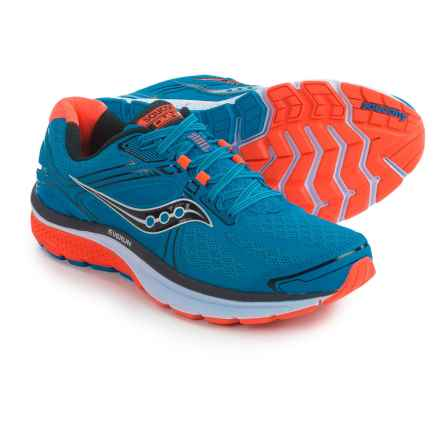 Saucony Omni 15 Running Shoes (For Men) in Blue/Orange/Black - Closeouts