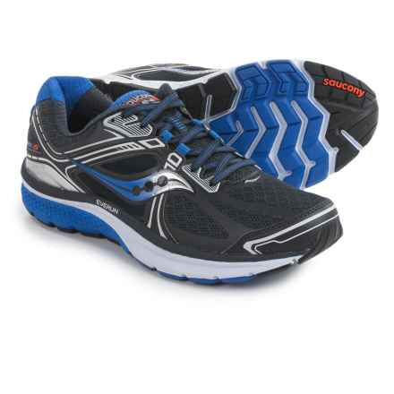 Saucony Omni 15 Running Shoes (For Men) in Grey/Blue/Silver - Closeouts