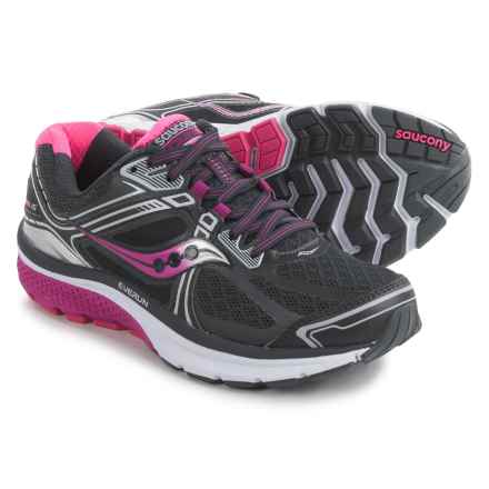 Saucony Omni 15 Running Shoes (For Women) in Grey/Purple/Pink - Closeouts