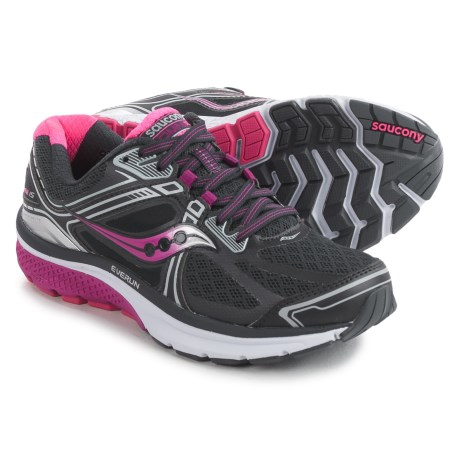 Saucony Omni 15 Running Shoes (For Women) in Grey/Purple/Pink