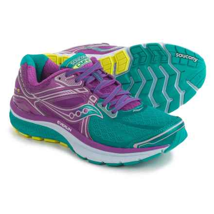 Saucony Omni 15 Running Shoes (For Women) in Teal/Purple - Closeouts