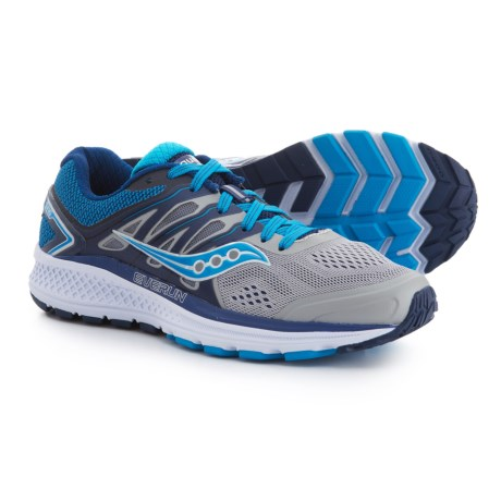 Saucony Omni 16 Running Shoes (For Women) in Grey/Blue