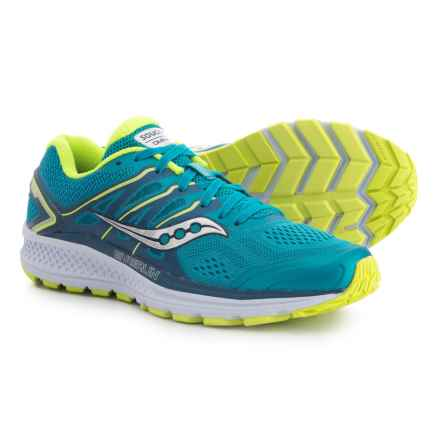 Saucony Omni 16 Running Shoes (For Women) in Teal/Citron - Closeouts
