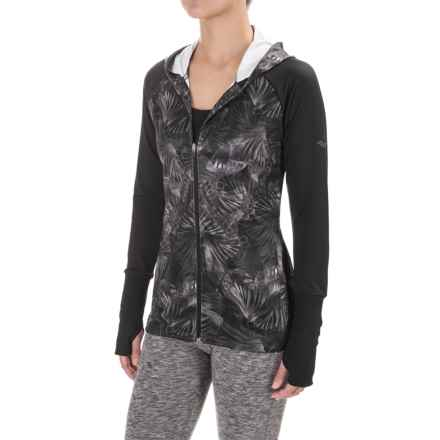 Saucony Omni Hoodie (For Women) in Carbon Print - Closeouts