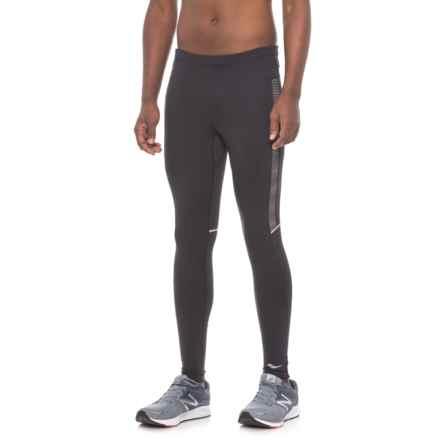 Saucony Omni LX Tights (For Men) in Black/ Black - Closeouts