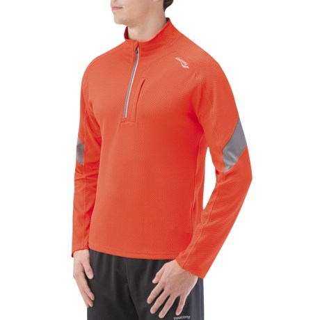 Saucony Optimal Sport Shirt - Long Sleeve (For Men) in Dash