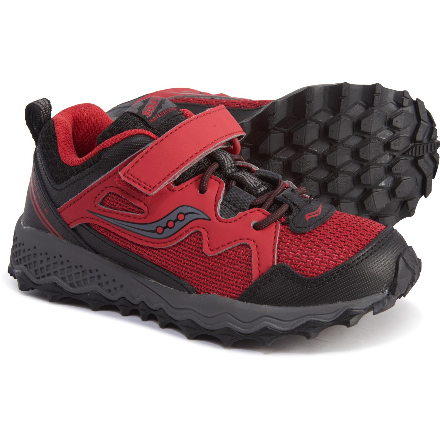 wholesale dealer b459c c724f Saucony Peregrine Shield 2 A/C Trail Running Shoes (For Boys)