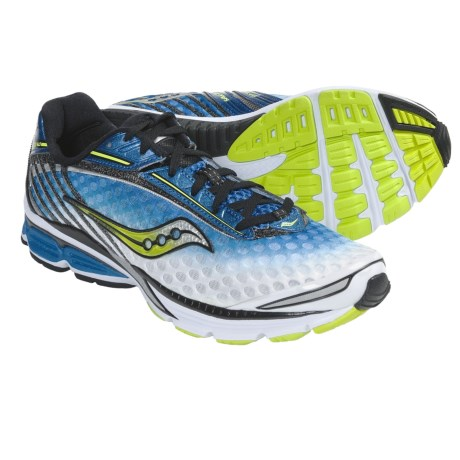 Saucony PowerGrid Cortana Running Shoes (For Men) in Royal/White/Citron