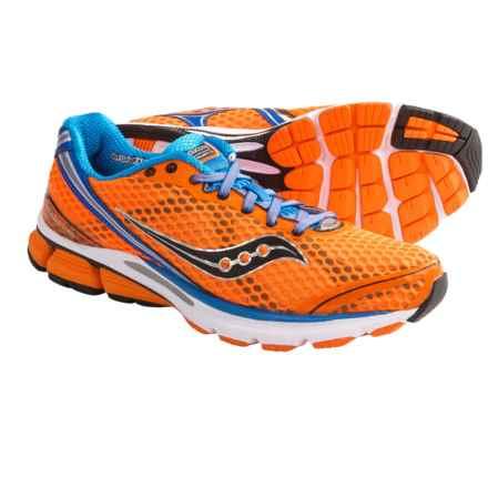 Saucony PowerGrid Triumph 10 Running Shoes (For Men) in Vizipro Orange/Blue - Closeouts